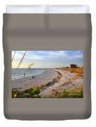 Pass A Grill Beach Florida Duvet Cover