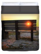 Pass-a-grille Glow Duvet Cover