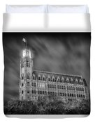 Passing Storm At The Emily Morgan Hotel Duvet Cover