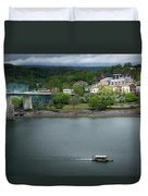 Passing Storm In Chattanooga Duvet Cover
