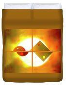 Passion And Power Duvet Cover