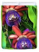 Passion Flower Ver. 12 Duvet Cover