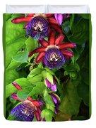 Passion Flower Ver. 16 Duvet Cover
