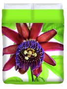Passion Flower Ver. 5 Duvet Cover