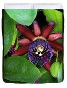 Passion Flower Ver. 8 Duvet Cover