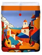 Passion For Life Spain Duvet Cover