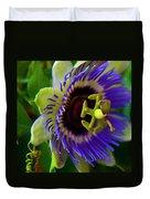 Passion-fruit Flower Duvet Cover