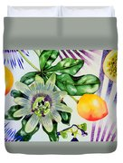 Passion In The Tropics Duvet Cover
