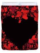 Passionate Love Heart Duvet Cover
