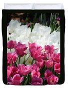 Passionate Tulips Duvet Cover