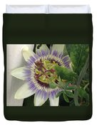 Passionflower Duvet Cover