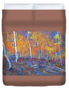 Passions Of Fall Duvet Cover