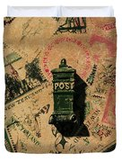 Past Letters In Post Duvet Cover