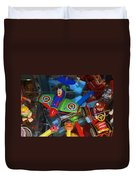 Past Memories Duvet Cover