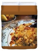 Pasta And Fruit Duvet Cover