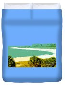 Pastel Beach Duvet Cover
