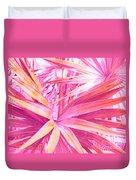Pastel Dream In Pink Duvet Cover