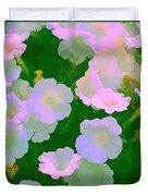Pastel Flowers Duvet Cover
