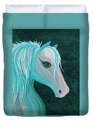Pastel Horse Duvet Cover
