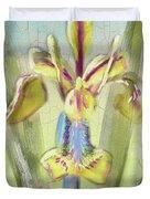 Pastel Iris Duvet Cover