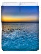 Pastel Ocean Duvet Cover