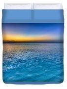 Pastel Ocean Duvet Cover by Chad Dutson