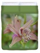 Pastel Orchid Duvet Cover