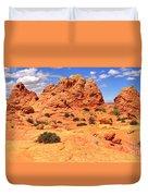 Pastel Petrified Sand Dunes Duvet Cover