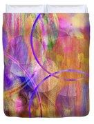 Pastel Planets Duvet Cover