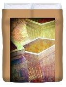 Pastel Pottery Duvet Cover