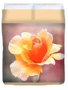 Pastel Rose Duvet Cover