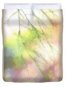 Pastel Spring Whispers Duvet Cover