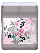 Pastel Water-healing Roses -24 Duvet Cover