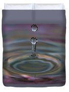 Pastel Water Sculpture 10 Duvet Cover
