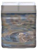 Pastel Water Sculpture 5 Duvet Cover