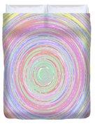 Pastel Whirlpool Duvet Cover