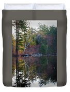 Pastels In Reflection  Duvet Cover