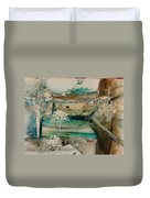 Pastoral Duvet Cover by Gregory Dallum