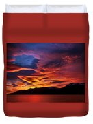 Patagonian Sunrise Duvet Cover