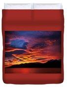 Patagonian Sunrise Duvet Cover
