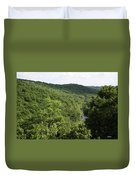 Patapsco Valley State Park - Overlook Duvet Cover