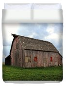 Patched And Still Standing Duvet Cover
