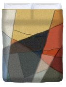 Patches In Harmony Abstract Duvet Cover