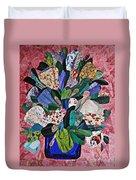 Patchwork Bouquet Duvet Cover