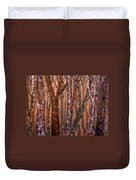 Patchwork Forest Duvet Cover
