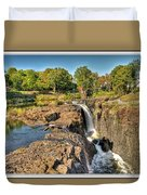 Paterson Water Falls Black And White Duvet Cover