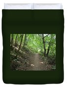Path By The River Duvet Cover