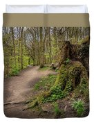 Path In Judy Woods Duvet Cover