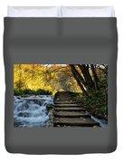 Path In Plitvice Duvet Cover