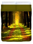 Path In The Forest 715 - Painting Duvet Cover